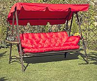 Пошив подушек на садовые качели  170*50*50см