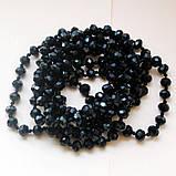 Намисто чорний агат, фото 2