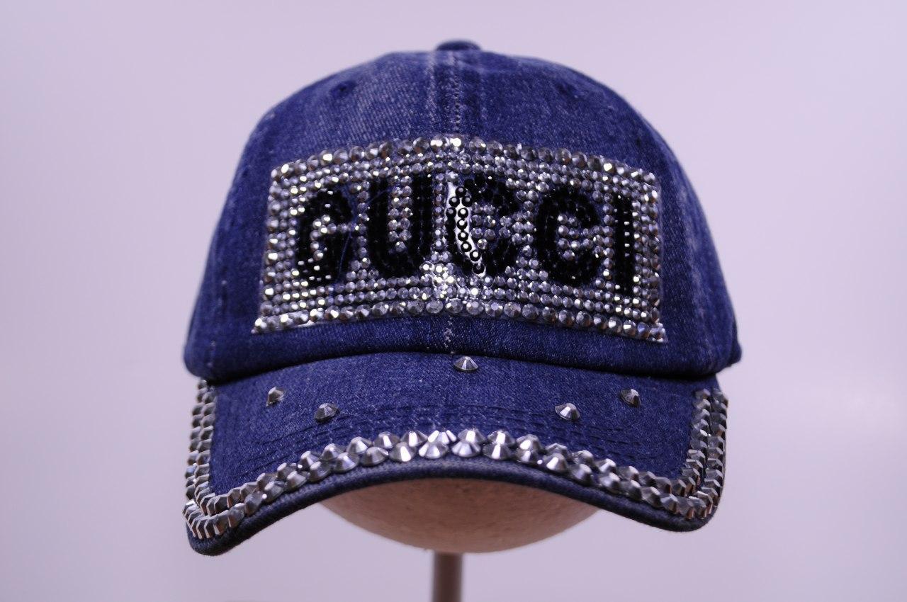 Джинсовая кепка для девочки Gucci, р. 54 1948-2_2