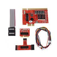 POST card (Пост карта) KQCPET6 V6 - PCI / PCI-E / MiniPCI-E / LPC / EC