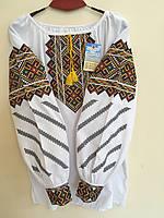 Вишита сорочка жіноча домоткане полотно 50-52 розмір, фото 1