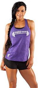 Спортивная женская майка Bodybuilding Clothing Women's Happy Hour Tank сиреневая L