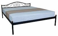 Металева ліжко 160х200 ALBA black ТМ EAGLE