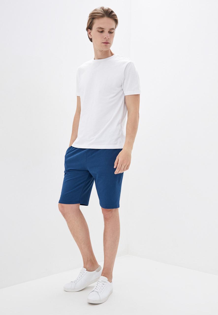 Спортивные мужские шорты для спорта индиго