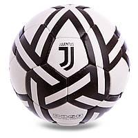 Мяч футбольный №5 Гриппи 5сл. JUVENTUS FB-0627 (№5, 5 сл., сшит вручную), фото 1