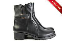Женские демисезонные ботинки на устойчивом каблуке