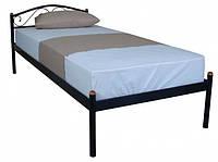 Металлическая кровать 90х200 ALBA black ТМ EAGLE