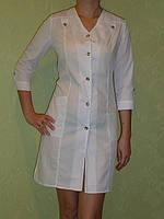 Медицинский халат Лилия. Опт 170 гр. Розница 220 гр. Ткань: батист.