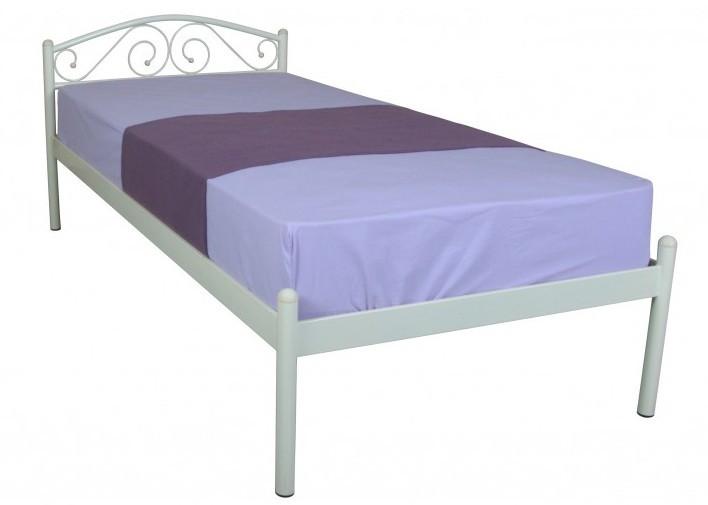 Металлическая кровать 90х200 ALBA beige ТМ EAGLE