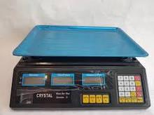 Торговые электронные весы Crystal 50 kg