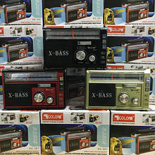 Радиоприёмник GOLON RX-381BT Bluetooth+USB+SD Радио с фанарем
