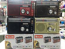 Радиоприёмник GOLON RX-382BT Bluetooth+USB+SD Радио с фанарем