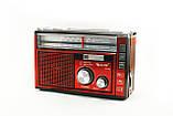 Радиоприёмник GOLON RX-382BT Bluetooth+USB+SD Радио с фанарем, фото 3