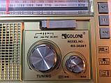 Радиоприёмник GOLON RX-382BT Bluetooth+USB+SD Радио с фанарем, фото 9