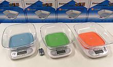 Весы кухонные до 7кг с чашей Domotec (MS-125)
