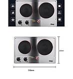 Двойная электрическая плита DSP KD-4047, фото 2