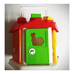 """Развивающая игрушка для ребёнка """"Умный малыш"""" """"Домик"""". Игра-сортер. 2+"""