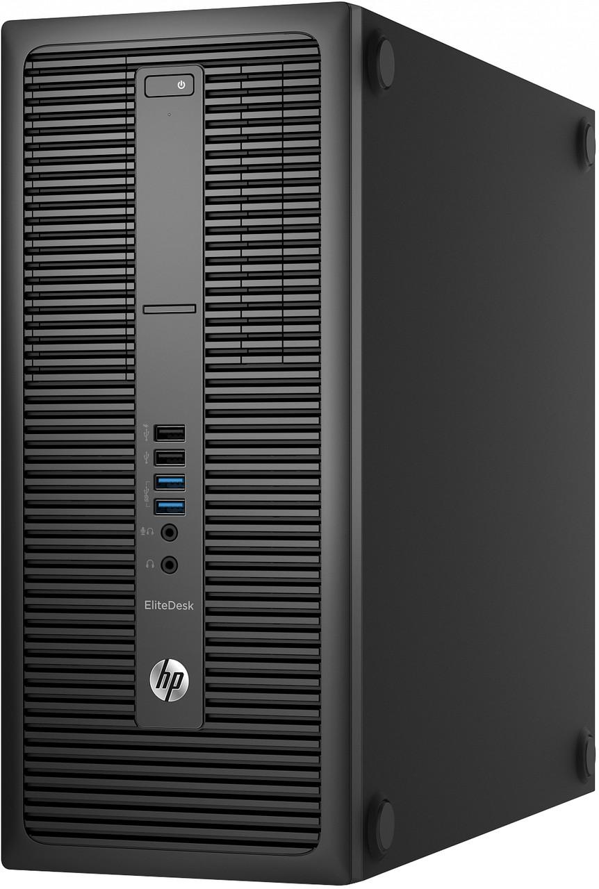 """Компьютер HP EliteDesk 800 G1 Tower (i3-4130/8/240SSD/RX470 4Gb) """"Б/У"""""""