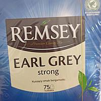 Чай Remsey черный с бергамотом, 75 пакетиков