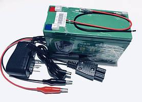 Аккумулятор  литиевый 12V 6A с элементами Li-ion 18650 + зарядное устройство
