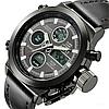 Мужские часы Amst / часы на руку + кошелек в подарок - Фото