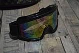 Бюджетный кроссовый шлем белый в комплекте с маской и перчатками. Размер M., фото 2