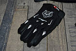 Бюджетный кроссовый шлем белый в комплекте с маской и перчатками. Размер M., фото 3