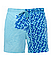 Шорти хамелеон для плавання, пляжні чоловічі спортивні змінюють колір жовті в квадрати розмір M код 26-0128, фото 5