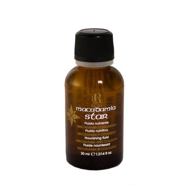 Флюид для волос с маслом макадамии и коллагеном RR Line Macadamia Star 30 мл