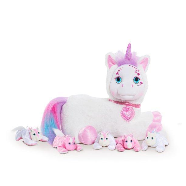 Just Play Unicorn Surprise Беременный единорог с сюрпризом Ариа Aria Plush