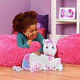 Just Play Unicorn Surprise Беременный единорог с сюрпризом Ариа Aria Plush, фото 3