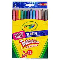 Набір воскових олівців CrayolaTwistables Crayons, Pack of 12 (52-8530-E-000) (B01B9KZLYE)