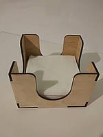 Салфетница деревянная для HoReCa и фаст-фуда, фото 1