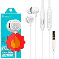 Навушники з мікрофоном Celebrat G4 | Наушники с микрофоном Celebrat G4