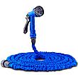 Шланг Magic Hose на 45 метрів, розтягується шланг поливальний, кольори Синій і Зелений, фото 5