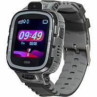 Смарт-часы Gelius Pro GP-PK001 (PRO KID) Black/Silver Детские умные часы с GPS (Pro GP-PK001 (PRO KID) Black/Silver), фото 1