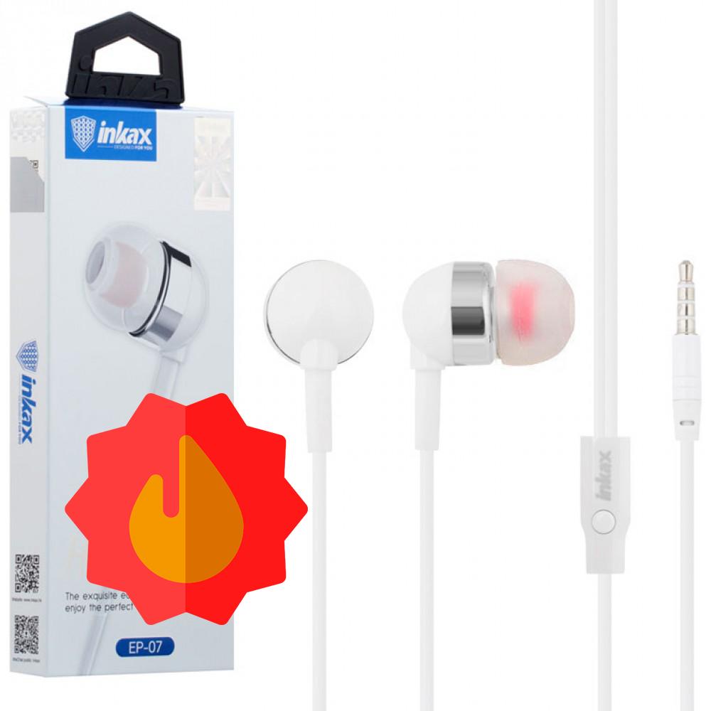 Навушники з мікрофоном INKAX EP-07 | Наушники с микрофоном INKAX EP-07