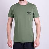 Чоловіча футболка Adidas, чорного кольору, фото 4