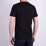 Чоловіча футболка Adidas, чорного кольору, фото 2