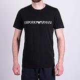 Чоловіча футболка Emporio Armani, білого кольору, фото 3