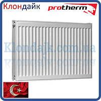 Стальной радиатор Protherm 11 класс 500х500 боковое подключение