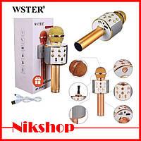 Беспроводной микрофон Wster WS-858 / караоке микрофон