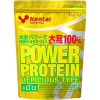 Kentai Power изолят соевого протеина, витамины, минералы 1 кг 50 порций банановый вкус