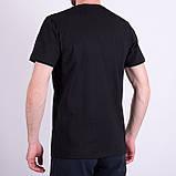 Чоловіча футболка Puma,  чорного кольору, фото 2