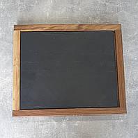 Доска под сланцевое блюдо Лас  с сланцем 30х25 см ясень (3907j3025-SCL)