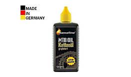 Смазка для велоцепи HANSELINE MTB-OIL графитная 125ml