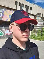 Кепка бейсболка тракер New York Yankees Сине-красный мужская \ женская