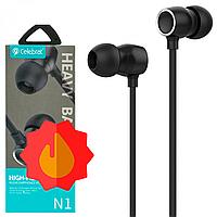 Навушники з мікрофоном Celebrat N1   Наушники с микрофоном Celebrat N1