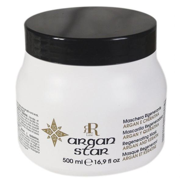 Регенерирующая маска с кератином и маслом арганы RR Line Argan Star 500 мл