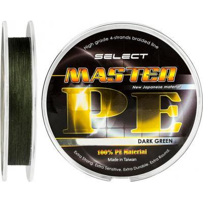 Шнур Select Master PE 100m 0.10мм 13кг (1870.01.42)
